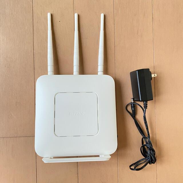Buffalo(バッファロー)の値下げ WiFiルーター バッファローWXR1900DHP3 スマホ/家電/カメラのPC/タブレット(PC周辺機器)の商品写真