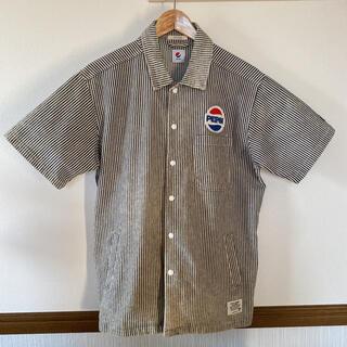 BAYFLOW - BAYFLOW ストライプTシャツ(PEPSI ロゴ入り)