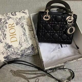 Christian Dior - LADY LADY DIOR ミニバッグ ミニバッグ