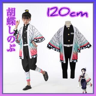 鬼滅の刃 コスプレ 120cm 胡蝶しのぶ 衣装 子供用 ハロウィン 誕生日(衣装一式)