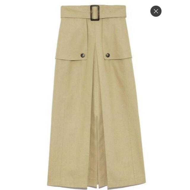 Lily Brown(リリーブラウン)のlilybrown『デザインワークススカート』 レディースのスカート(ロングスカート)の商品写真
