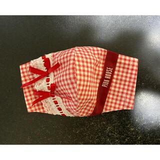 ピンクハウス(PINK HOUSE)のLピンクハウス夏極薄 赤抗菌インナーマスク(その他)