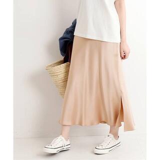 IENA - 7/31までセール【新品】 IENA バイアスフレアスカート ¥15400 34