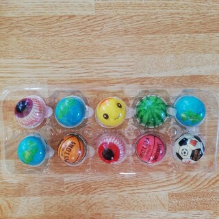 地球グミ食べ比べセット10個(菓子/デザート)