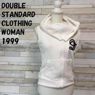 ダブルスタンダードクロージング(DOUBLE STANDARD CLOTHING)のダブルスタンダードクロージング フルジップ ベスト 首ボリューム サイズ36(ベスト/ジレ)