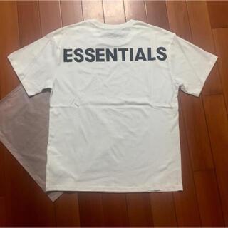 FEAR OF GOD - サイズXL 白fog essentials Tシャツ