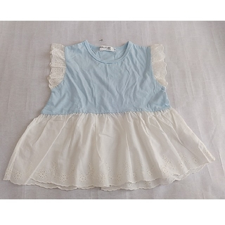 ベベ(BeBe)のBUZZ FUZZ byBEBEトップス タグ付き 未使用品(Tシャツ/カットソー)