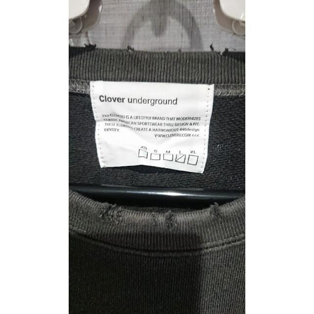JOURNAL STANDARD(ジャーナルスタンダード)のClover underground ダメージスウェット!値下げあり! メンズのトップス(スウェット)の商品写真