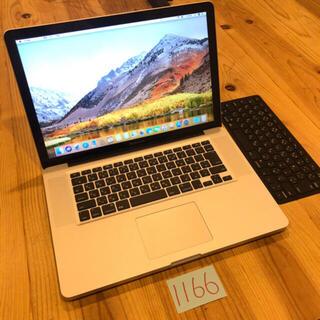 Mac (Apple) - i7 メモリ16GB MacBook pro 15インチ early2011