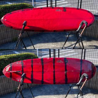 """take's サーフボード 6'4"""" egg board ファン フィン付き"""