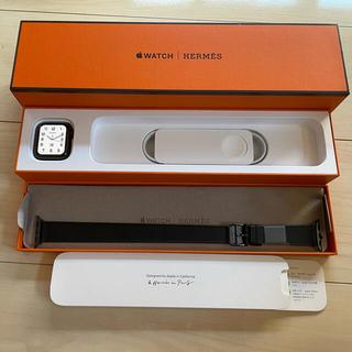 アップルウォッチ(Apple Watch)のApple Watch 6 エルメス ブラック アトラージュ・ドゥプルトゥール(その他)