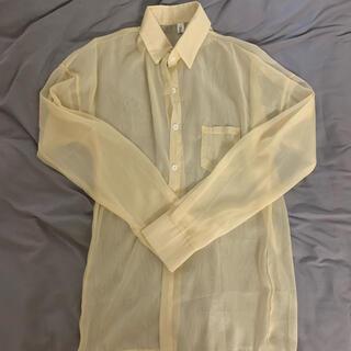 ZARA - シースルーシャツ