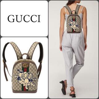 グッチ(Gucci)のセール!超レア品 GUCCI オフィディア 三匹の子豚 バッグパック ディズニー(リュック/バックパック)