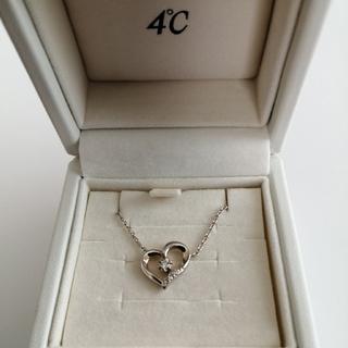 4℃ - 4℃ダイヤモンドネックレス