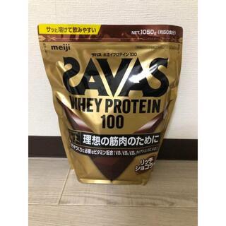 明治 ザバス ホエイプロテイン100 リッチショコラ味 1050g 約50食分(プロテイン)