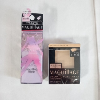MAQuillAGE - マキアージュ ファンデーション、ベージュオークル10レフィル 化粧下地、セット