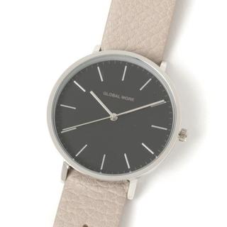 GLOBAL WORK - グローバルワーク ラウンドスルーベルトウォッチ 腕時計