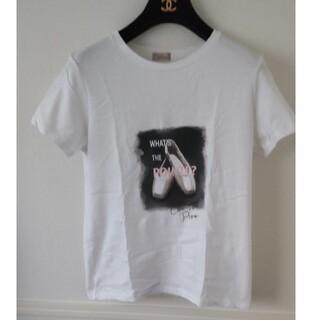 チャコット(CHACOTT)のポワントプリントTシャツ(シャツ/ブラウス(半袖/袖なし))