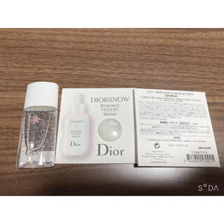 Dior - ディオールスノー試供品