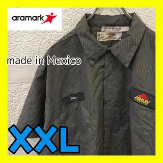 コロンビア(Columbia)のC42 ARAMARK ワークシャツ チェック柄 オーバーサイズ ストリート(シャツ)