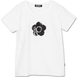 MARY QUANT - 新品 マリークワント スパンコールデイジー Tシャツ 白