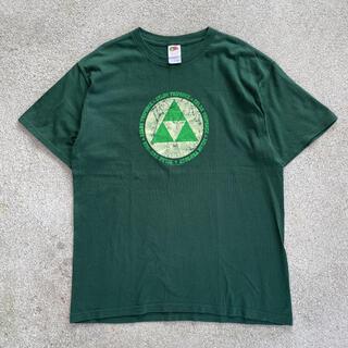 00s 古着 zelda triforce ゼルダの伝説 tシャツ(Tシャツ/カットソー(半袖/袖なし))