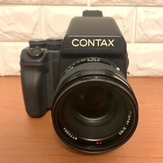 ライカ(LEICA)のcontax645 planar80mmf2  コンタックス645 標準セット(フィルムカメラ)