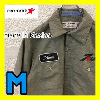 コロンビア(Columbia)のC43 ARAMARK ワークシャツ ストーリート 柄シャツ 7UP(シャツ)