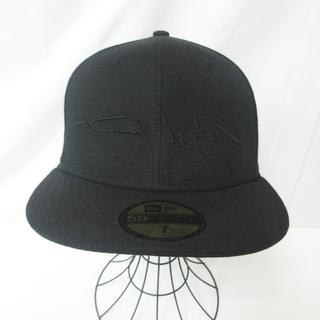 Yohji Yamamoto - ヨウジヤマモト × ニューエラ コラボ キャップ 帽子  7 55.8cm