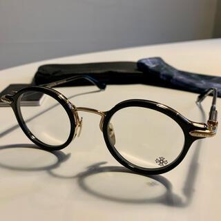 クロムハーツ(Chrome Hearts)の正規品 新品 クロムハーツ BRA-GILE メガネ 眼鏡 ゴールド クロス(サングラス/メガネ)