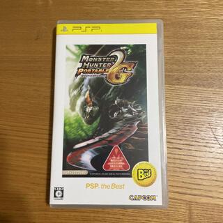 モンスターハンターポータブル 2nd G(PSP the Best) PSP(その他)
