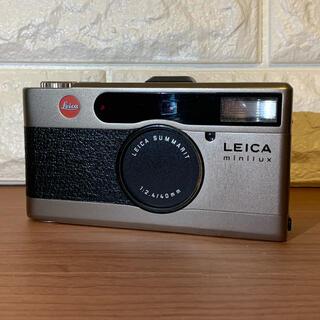 ライカ(LEICA)のleica minilux ライカミニルックス (フィルムカメラ)