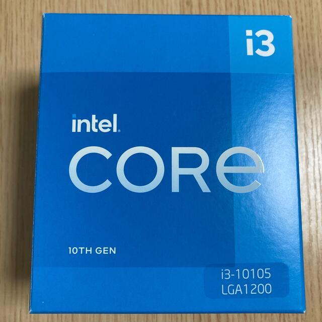 Intel core i3 10105 スマホ/家電/カメラのPC/タブレット(PCパーツ)の商品写真
