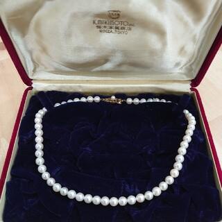 ミキモト(MIKIMOTO)のミキモト 真珠ネックレス K14(ネックレス)