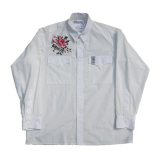【タイムセール】【新品】DAIRIKU マネークリップ付きシャツ