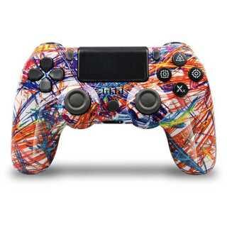 PS4 ワイヤレスコントローラー レアカラー スプラッシュ ガラコン(その他)