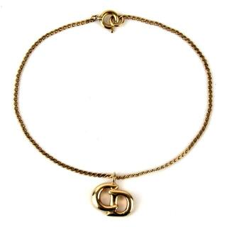 Christian Dior - クリスチャンディオール CDロゴトップ ヴィンテージ ブレスレット17-355