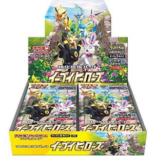 ポケモン(ポケモン)のイーブイヒーローズ ポケモンカード BOX 新品未開封 シュリンク付(Box/デッキ/パック)