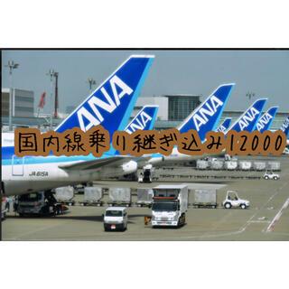 エーエヌエー(ゼンニッポンクウユ)(ANA(全日本空輸))の航空券 本人名義 ANA 飛行機(航空券)