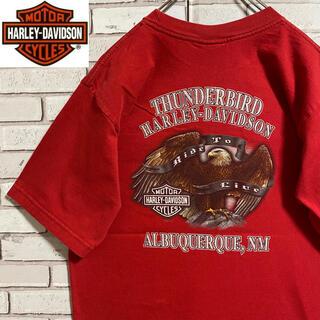 ハーレーダビッドソン(Harley Davidson)の90s 古着 ハーレーダビッドソン  USA製 バックプリント ビッグプリント(Tシャツ/カットソー(半袖/袖なし))