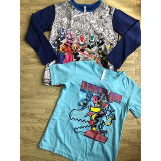 バンダイ(BANDAI)のリュウソウジャー パジャマ Tシャツ2枚 130(パジャマ)