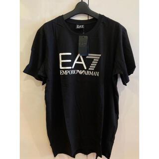 エンポリオアルマーニ(Emporio Armani)の新品未使用!SALE エンポリオアルマーニ EA7 Tシャツ ブラックXL(Tシャツ/カットソー(半袖/袖なし))