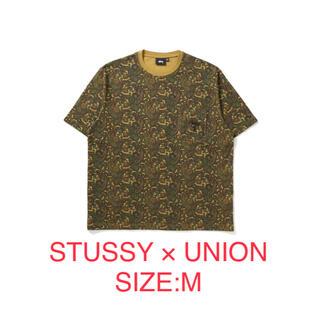 STUSSY - STUSSY × UNION PAISLEY POCKET CREW Mサイズ