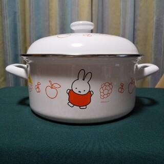 富士ホーロー - ミッフィー キャセロール両手鍋 20cm フジパン 景品