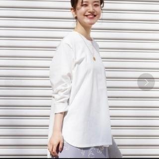 イエナ(IENA)の新品 IENA イエナ ラウンドテールロングTシャツ(Tシャツ(長袖/七分))