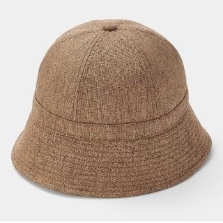 ジーユー(GU)の【新品未使用】GU UVカットザツザイバケットハット 帽子 ハット ジーユー(ハット)