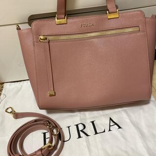 Furla - 最終値下げ!FURLA ハンドバッグ トートバッグ ピンク