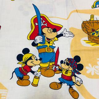 新品❣️まる1枚❣️ビンテージ♡海賊ディズニー♪ビンテージシーツ・ビンテージ生地