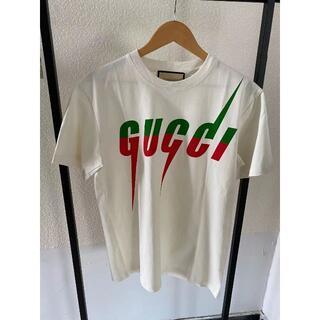 Gucci - 【大人気】GUCCI ブレード ロゴ コットンTシャツ♪