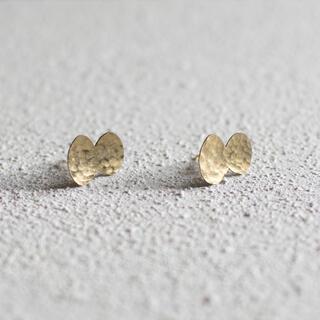 mina perhonen - ちょうちょのピアス 真鍮 ピアス アクセサリー ミナペルホネン ハンドメイド